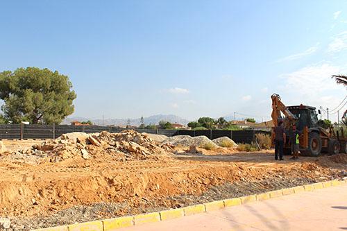 Reanudan las obras del nuevo colegio de La Callosilla 6