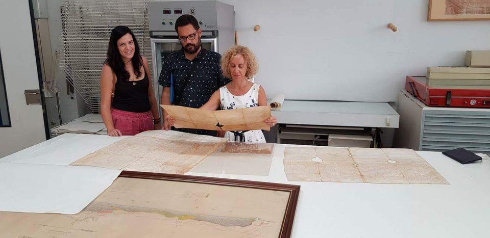 Guardamar restaura documentos de la época medieval 6