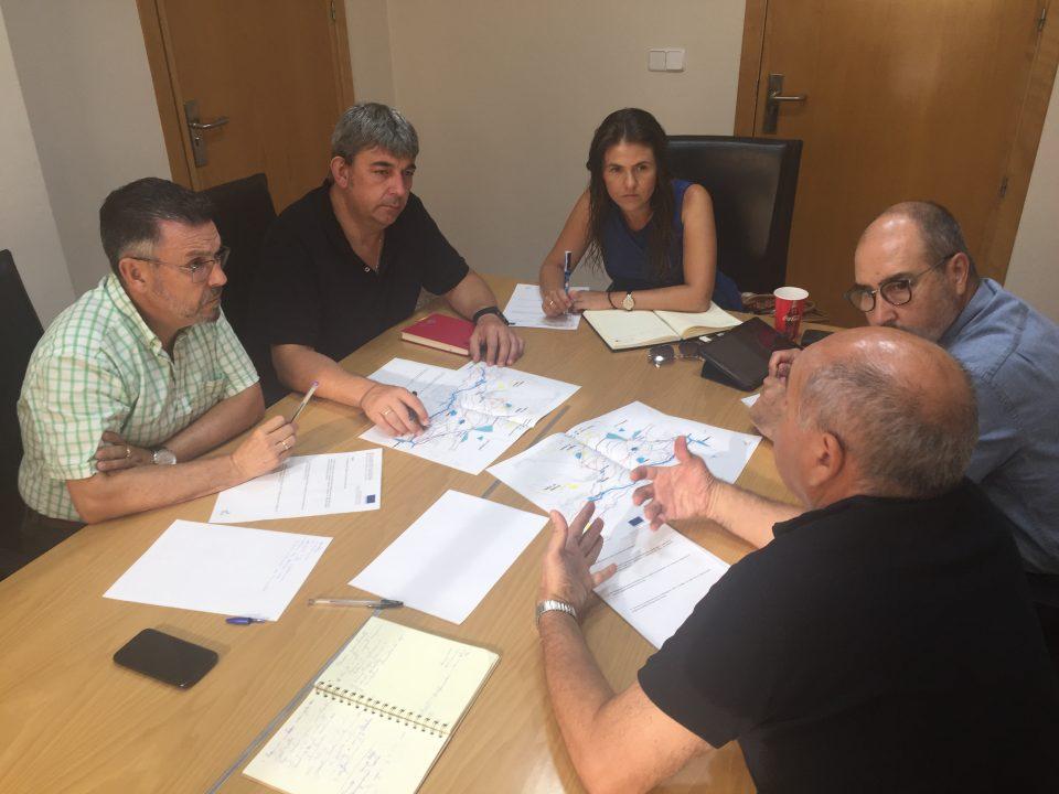 El PSOE comarcal pide a la CHS la limpieza del cauce del río ante posibles lluvias torrenciales 6