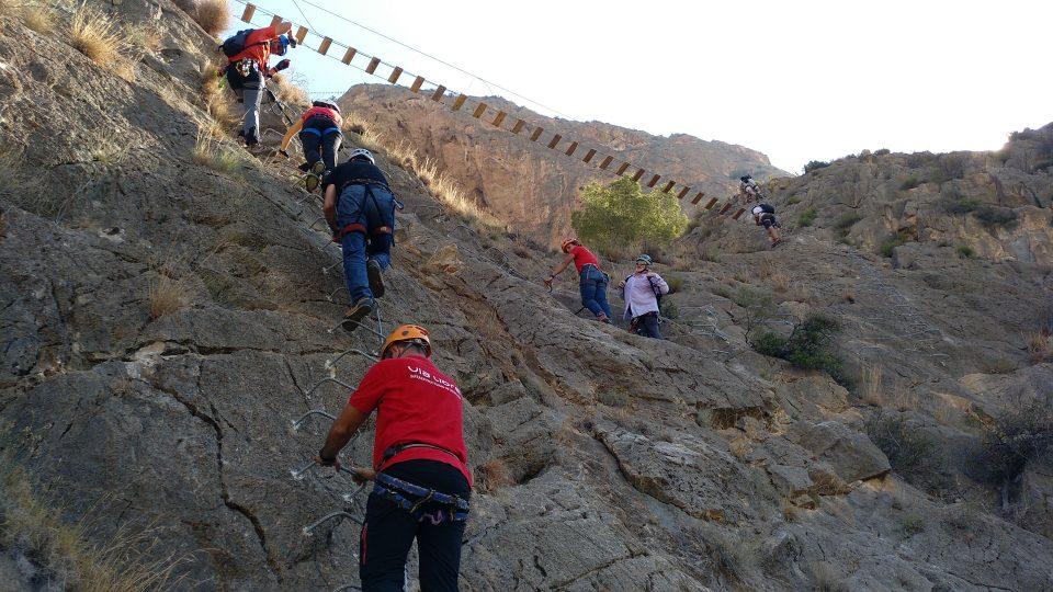 Redován inaugura la vía ferrata más larga de la Comunidad Valenciana 6