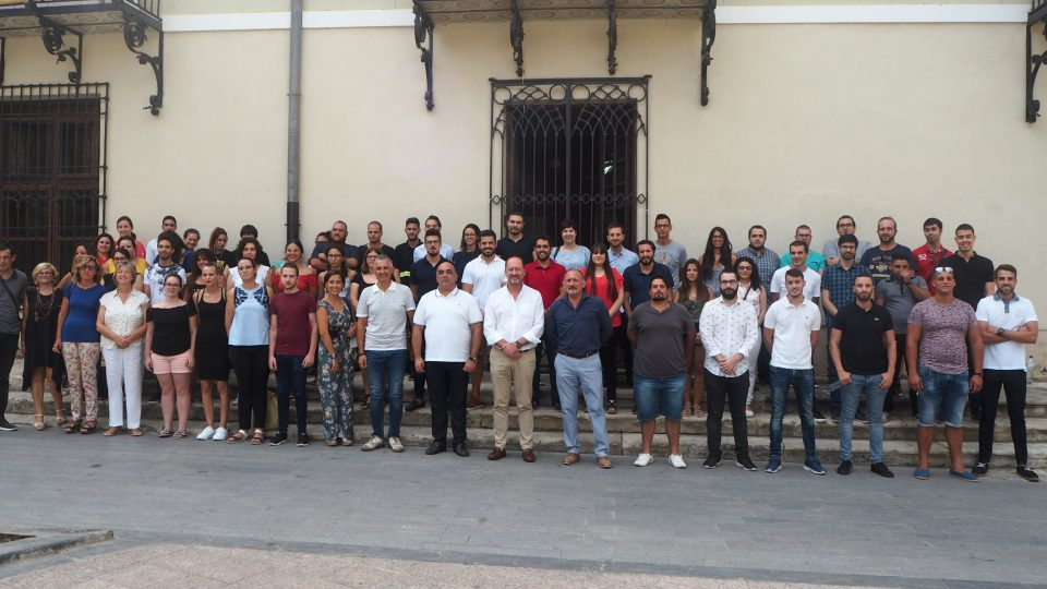 Orihuela contrata a 64 jóvenes a través de dos subvenciones del SERVEF 6