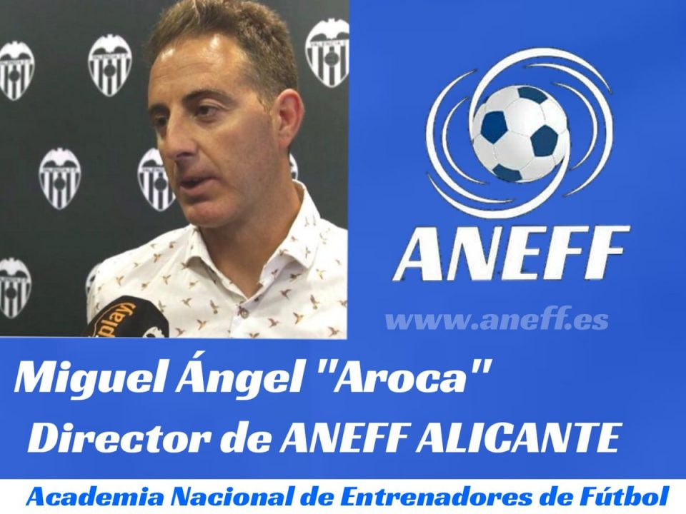 Aroca, nuevo director de ANEFF Alicante 6