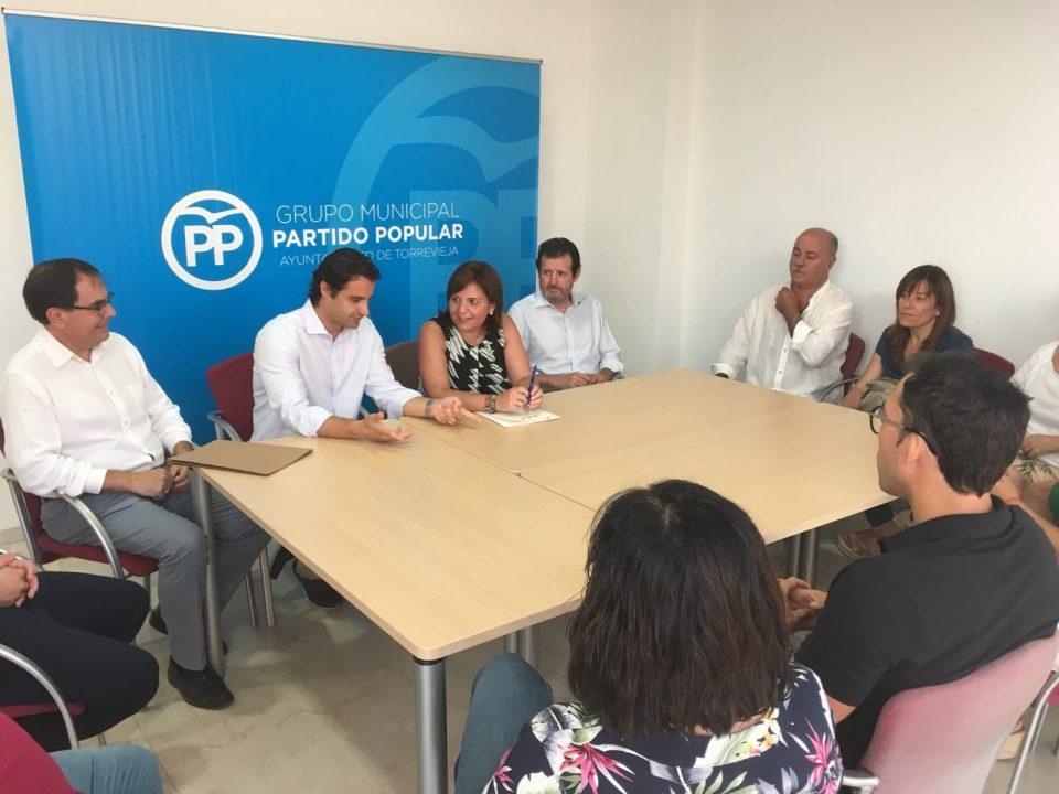PP y C´s, más cerca para aprobar la moción de censura en Torrevieja 6