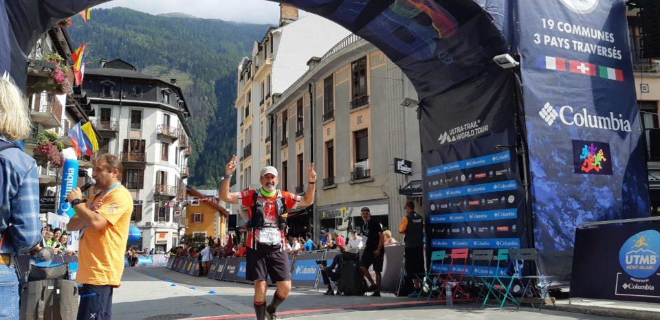 Juan Antonio Marcos culmina el Ultra Trail del Mont Blanc 6