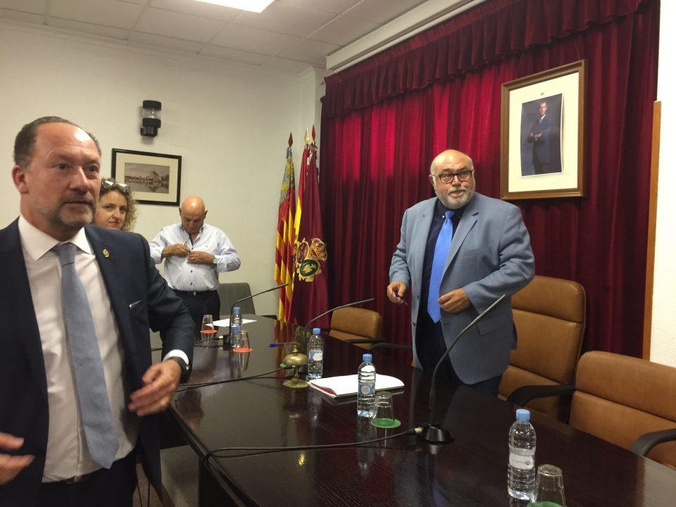 Tensión entre Bascuñana y Rodríguez Mulero por la Oficina Comarcal Agraria 6