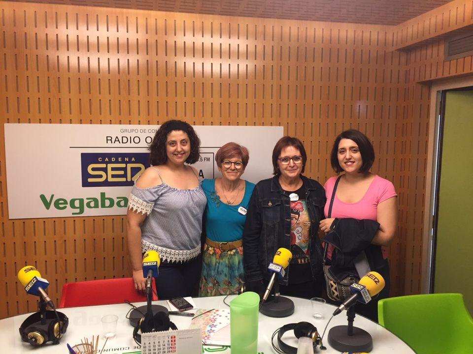 Alegría Herrero, Mari Carmen Cabrera, Nuchi Belchí e Idaira Herrero