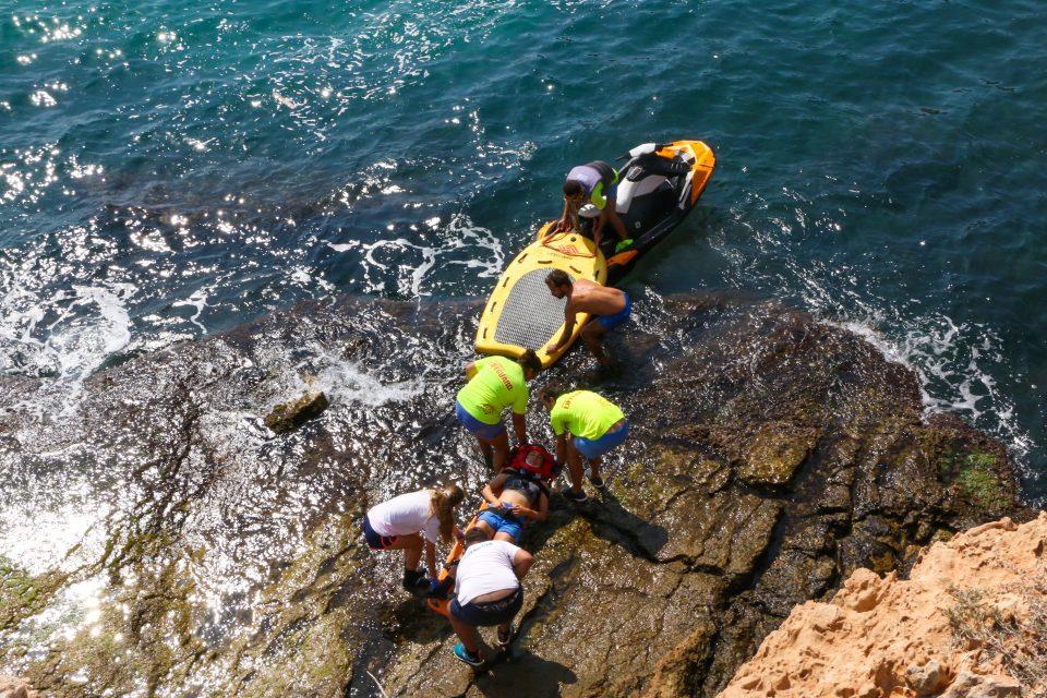 Todo preparado para rescates en Torrevieja 6