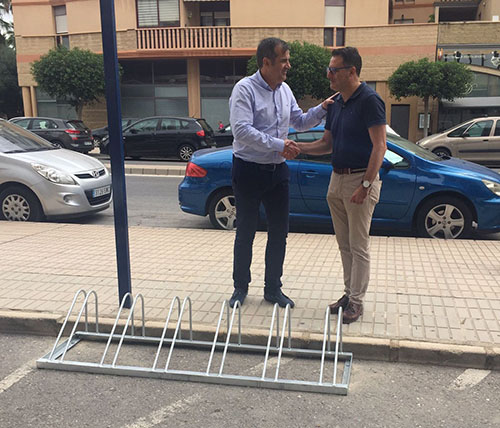 Orihuela contará con 38 nuevos aparca bicis 6