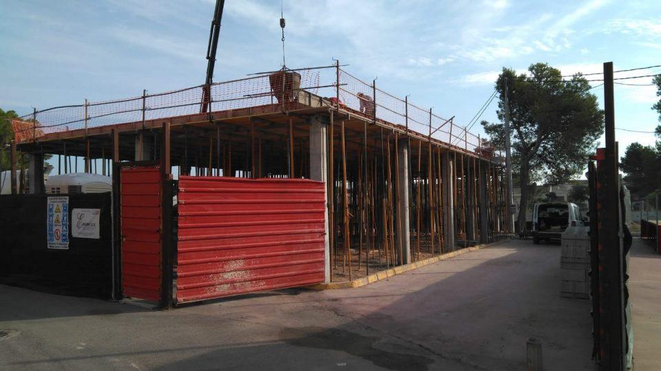Las obras del colegio La Callosilla finalizarán este trimestre 6