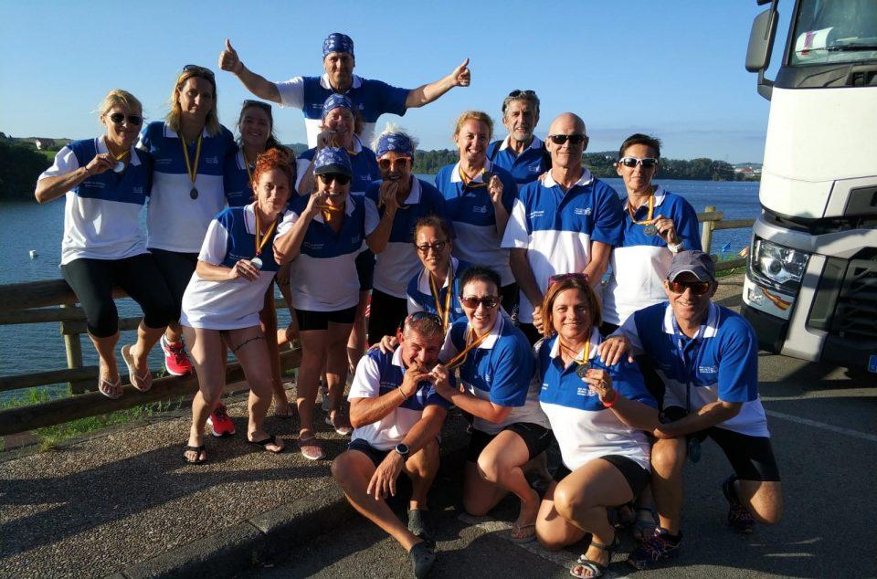 Las veteranas de Torrevieja se proclaman subcampeonas de Dragon Boat 6