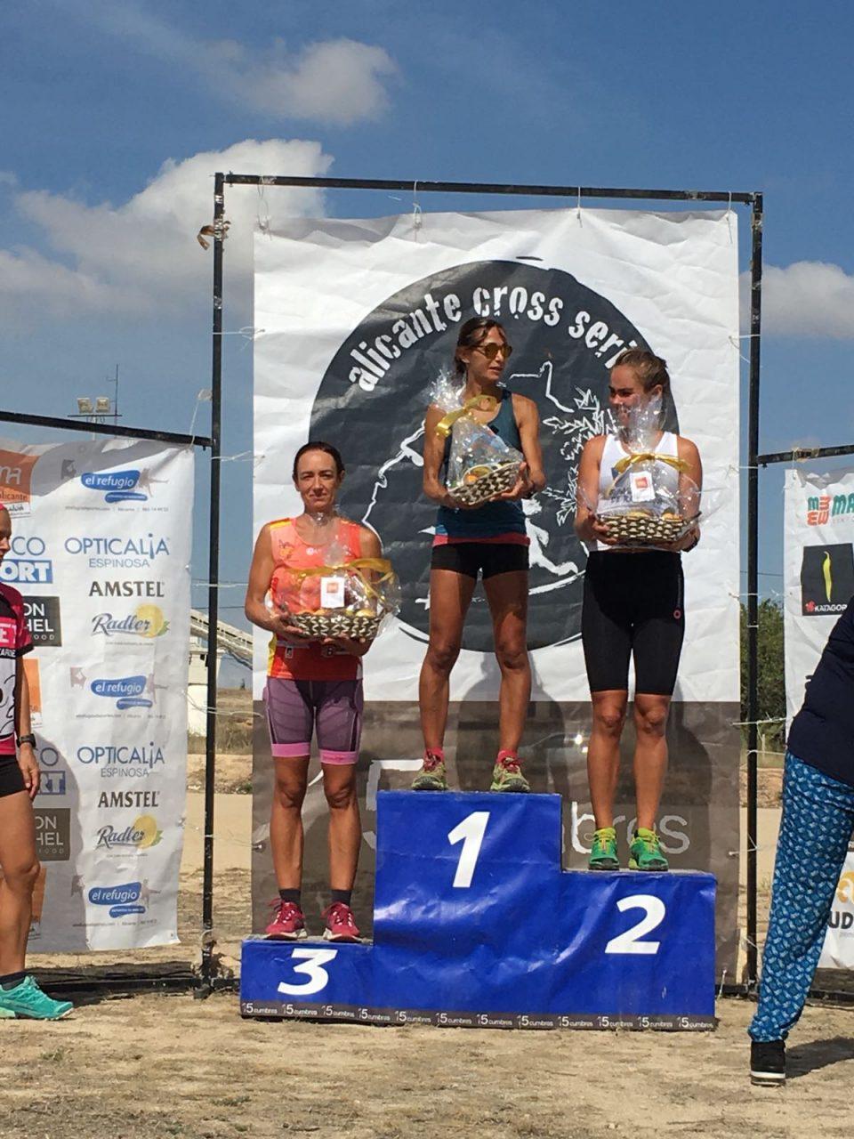 Marina Castillejos se cuelga el bronce en el Provincial de Trail 6