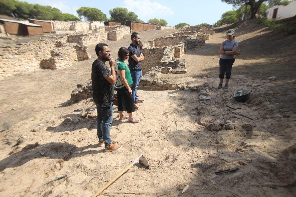 Ya han arrancado las obras de reconstrucción de La Fonteta en Guardamar 6