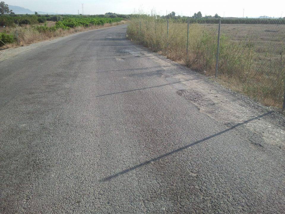 Arrancan las mejoras del camino de La Murada hasta Las Siete Casas 6