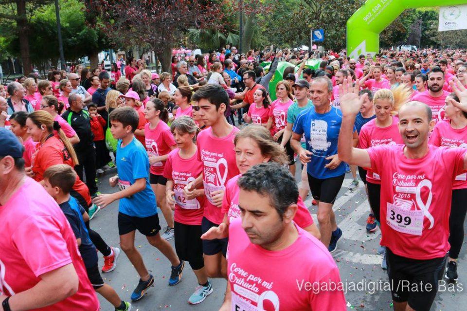 Participación masiva en la carrera contra el cáncer de mama 6