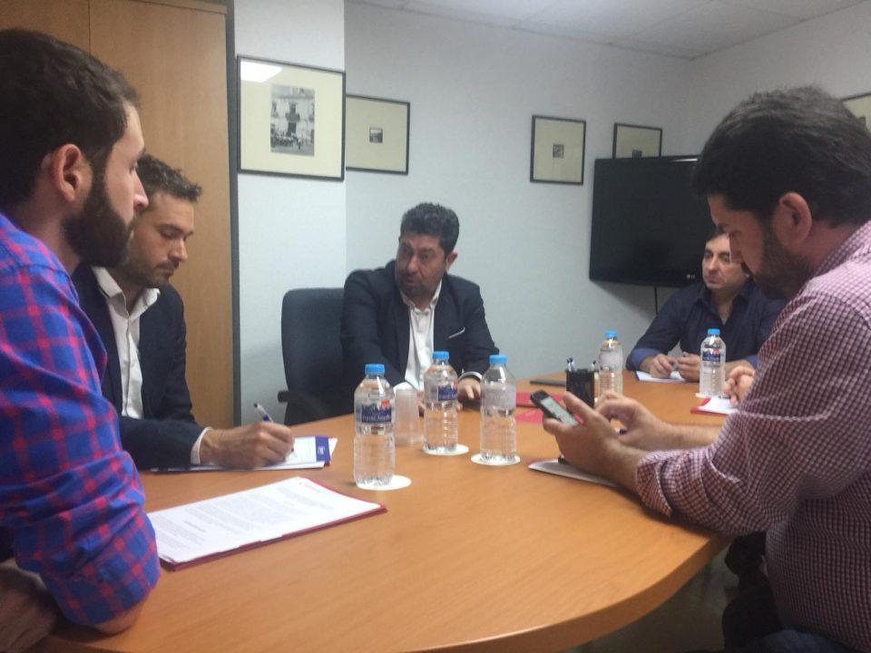 Compromís y Cámara de Orihuela acercan posturas sobre infraestructuras 6