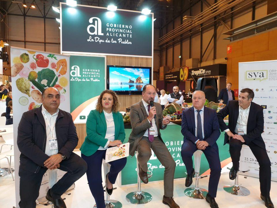 Orihuela presenta en Madrid su III Symposim Internacional Agroalimentario 6