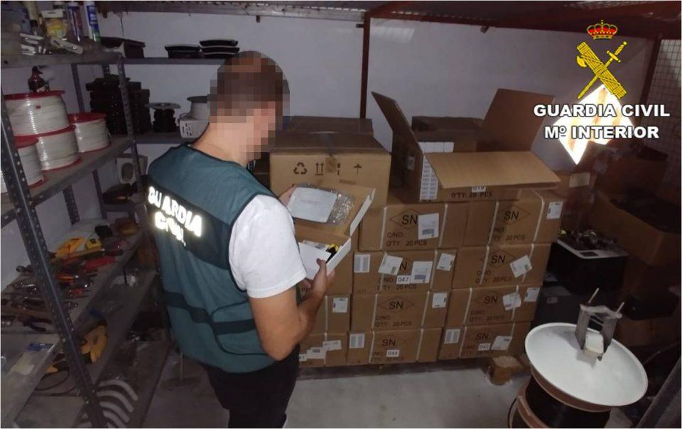 Desmantelan en Formentera del Segura una distribuidora de televisión pirata 6