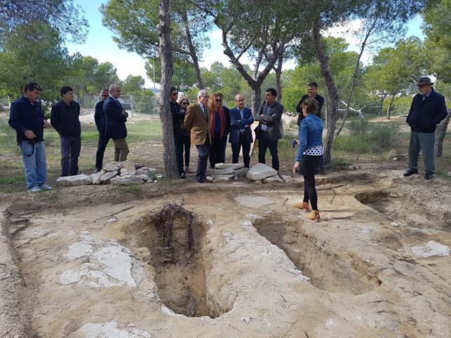 El MARQ localiza una importante necrópolis visigoda en Rojales 6