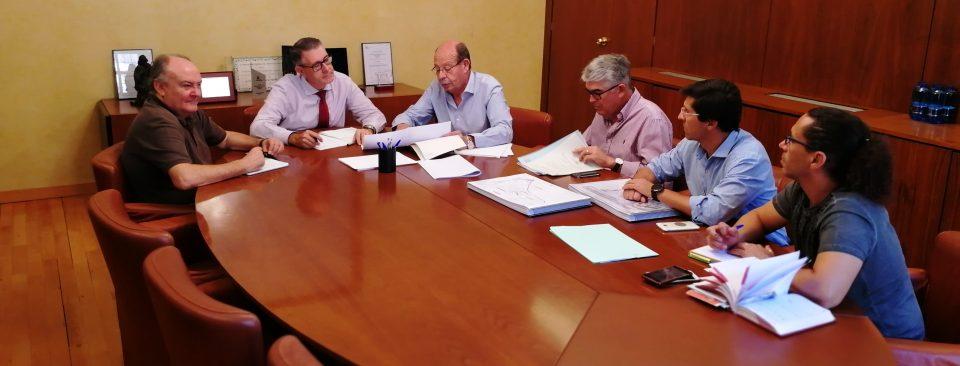Pilar de la Horadada solicita a la CHS que agilice el proyecto de encauzamiento de la rambla 6