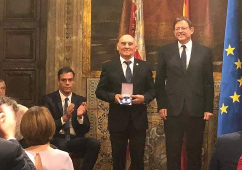 El Juzgado de Aguas de Orihuela recibe la Medalla de Oro de la GVA 6