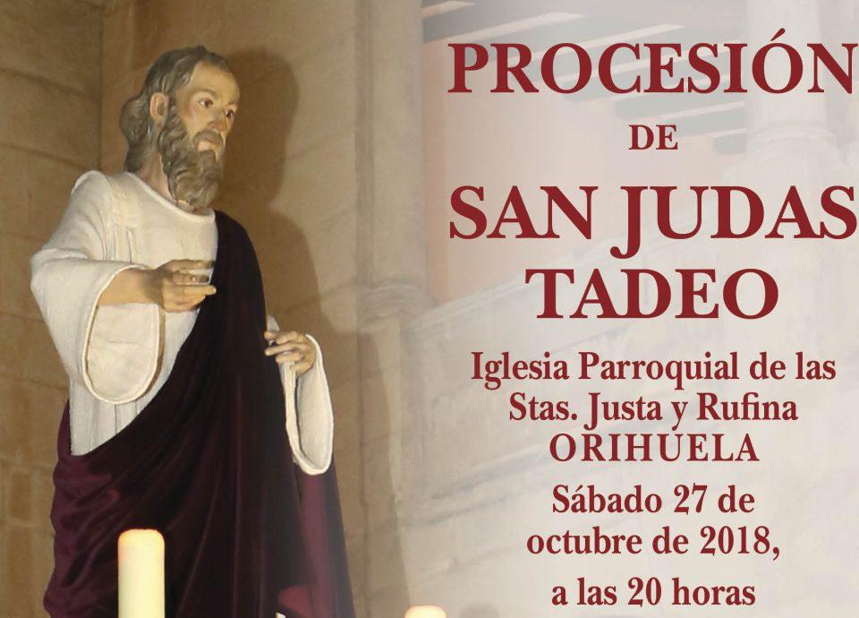 Orihuela celebrará este fin de semana la festividad de San Judas Tadeo 6