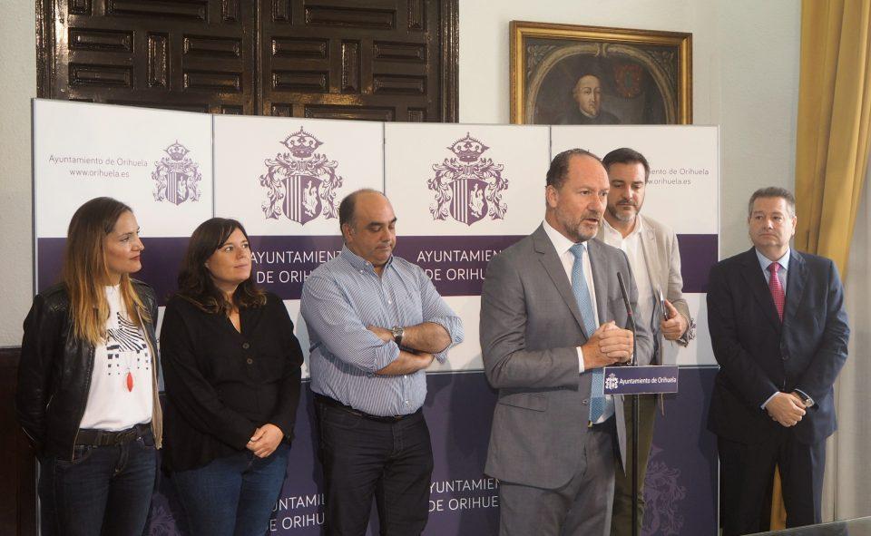 Orihuela recibe 475.000 euros para mejorar el casco, costa y pedanías 6