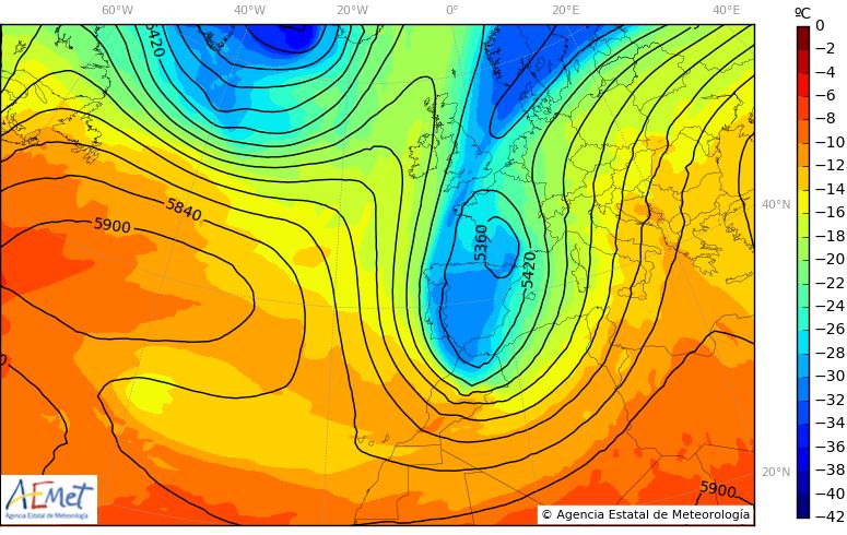 Llega un notable descenso de las temperaturas 6