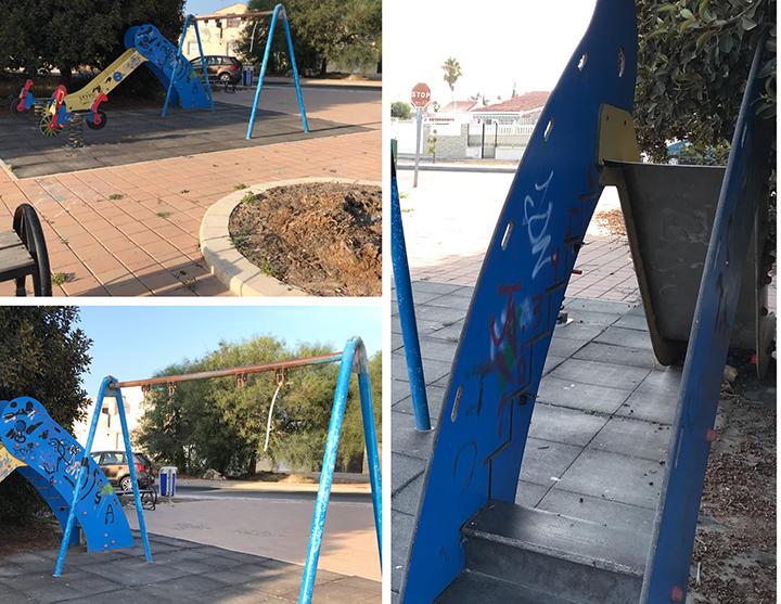 Denuncian el mal estado de parques infantiles de Torrevieja 6