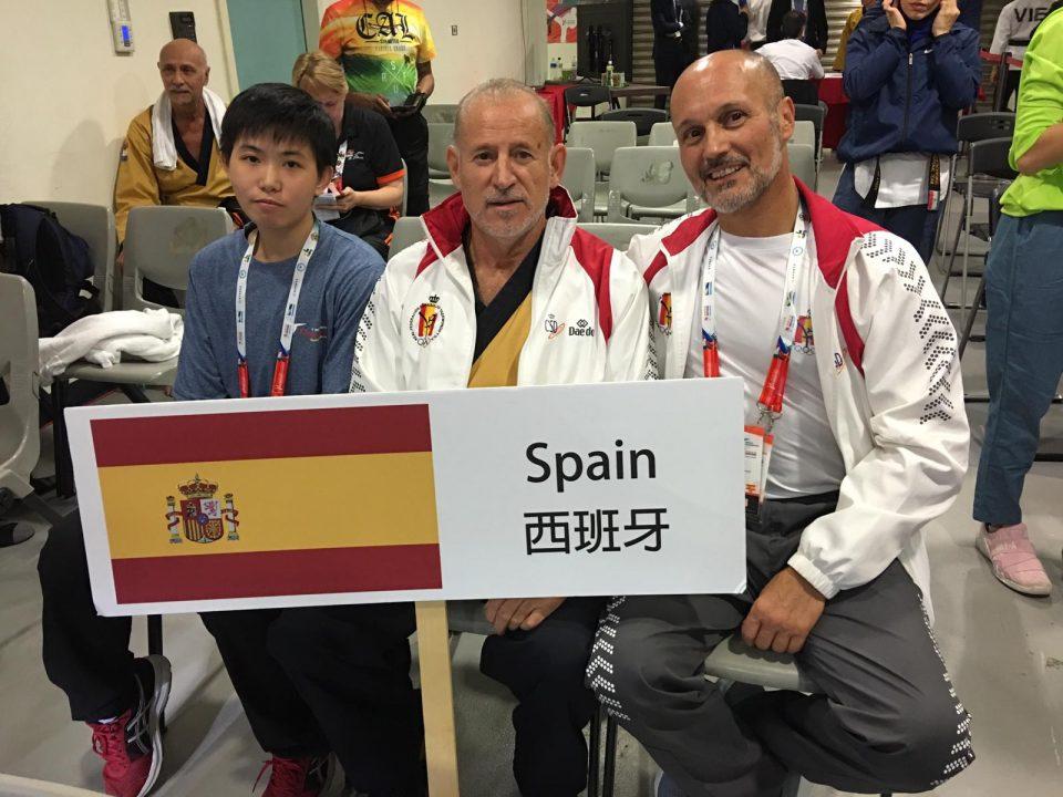 El taekwondoka oriolano Pedro González roza la medalla en China 6
