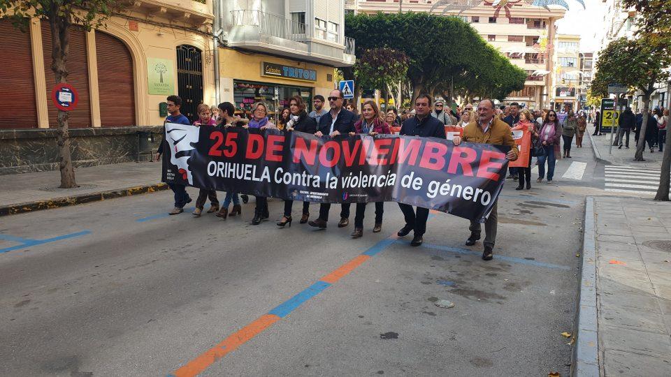 Orihuela se suma a la lucha contra la Violencia Machista 6