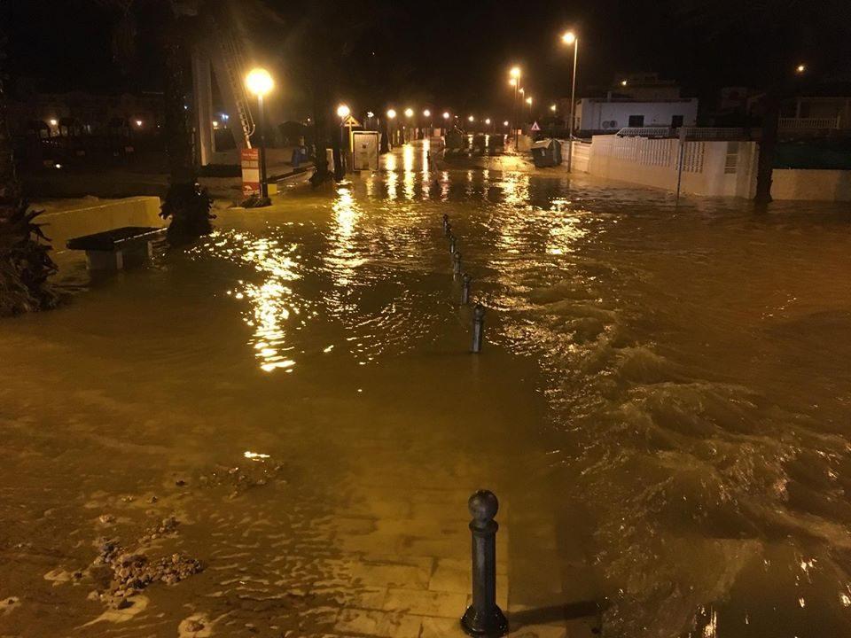 Torrevieja y Pilar de la Horadada suspenden las clases por lluvias 6