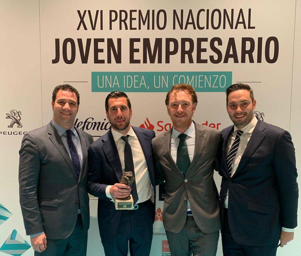 Enrique Riquelme, mejor joven empresario de España en 2018 6