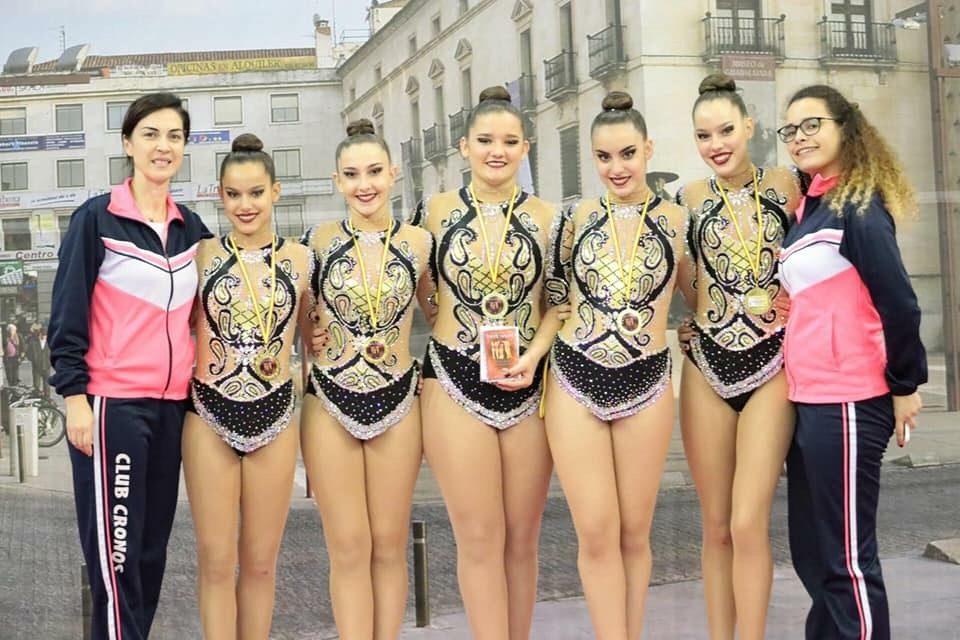 Cuatro oriolanas participarán en el Nacional de Gimnasia Rítmica 6