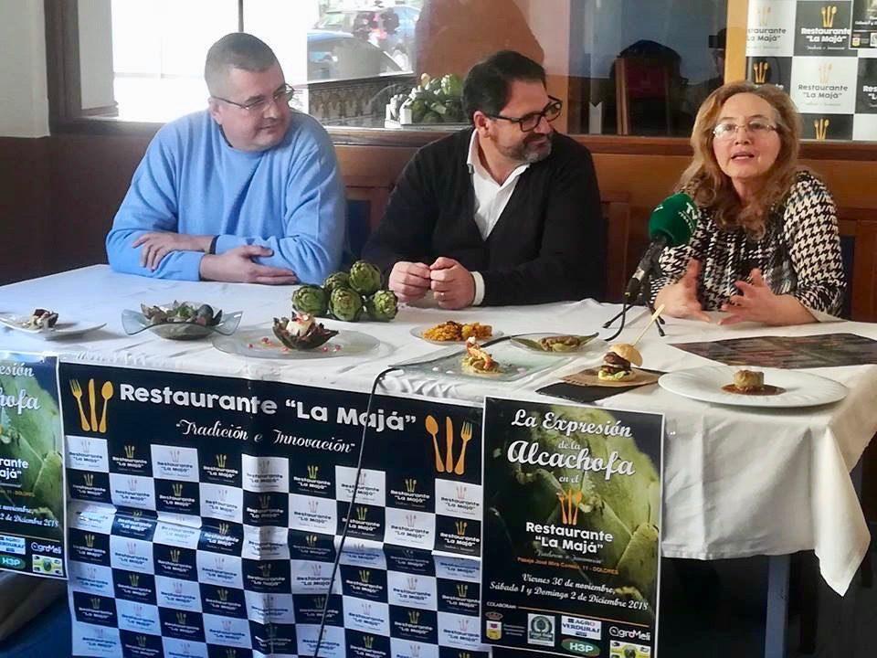 """Arrancan las Jornadas Gastronómicas """"La expresión de la alcachofa"""" en Dolores 6"""