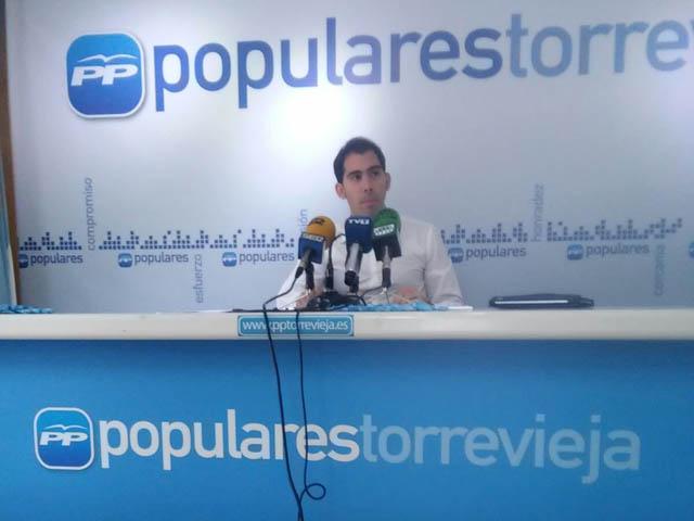 Luis María Pizana no formará parte de la lista electoral del PP en Torrevieja 6