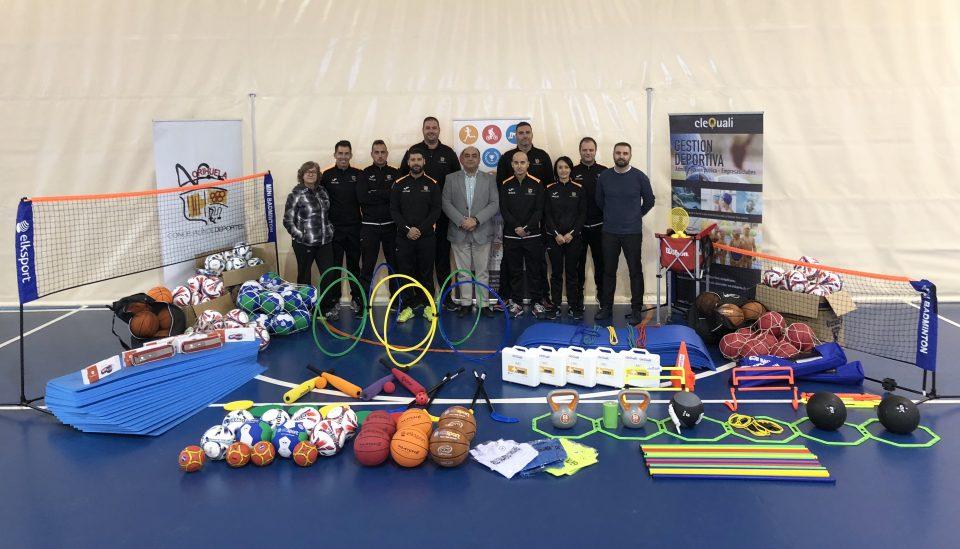 Nuevo material deportivo para las Escuelas Municipales de Orihuela 6