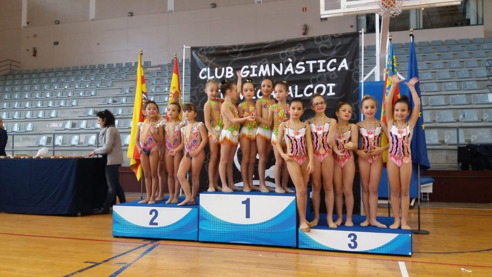 Orihuela triunfa en el Trofeo Provincial de Gimnasia Rítmica 6