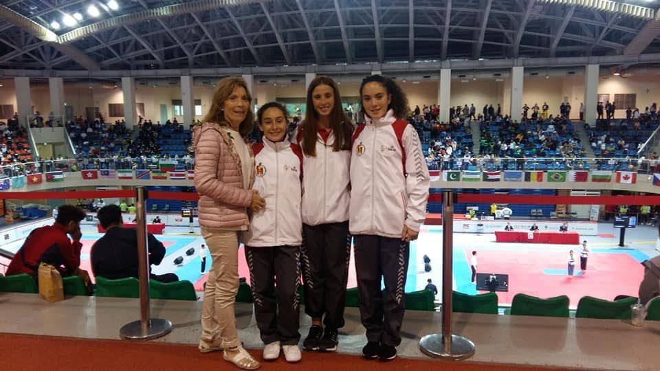 Tres jóvenes de Jacarilla traen el 5º puesto del Campeonato Mundial de Taekwondo 6