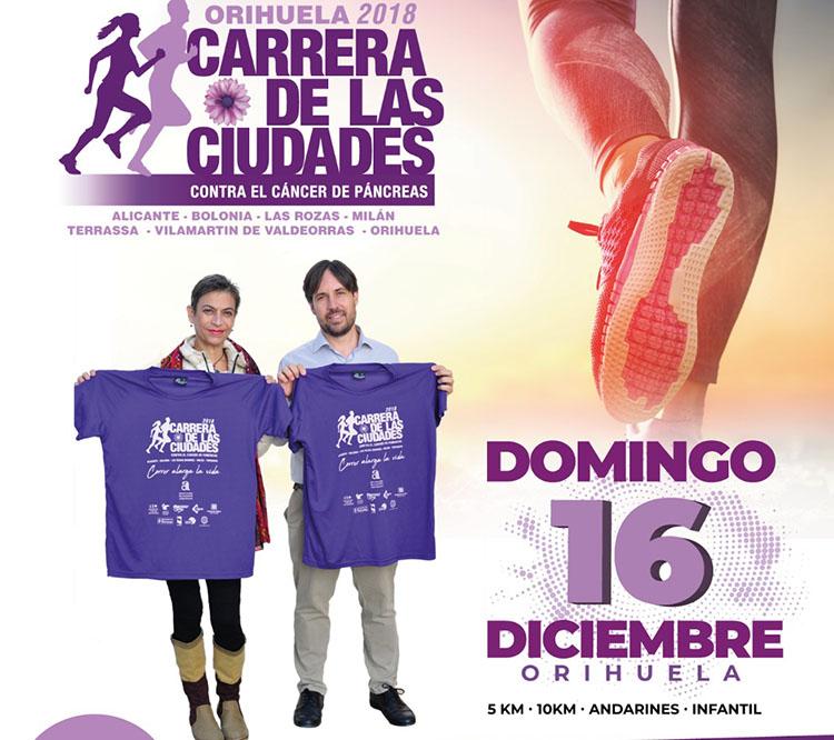 Orihuela se suma a la Carrera de las Ciudades Contra el Cáncer de Páncreas 6