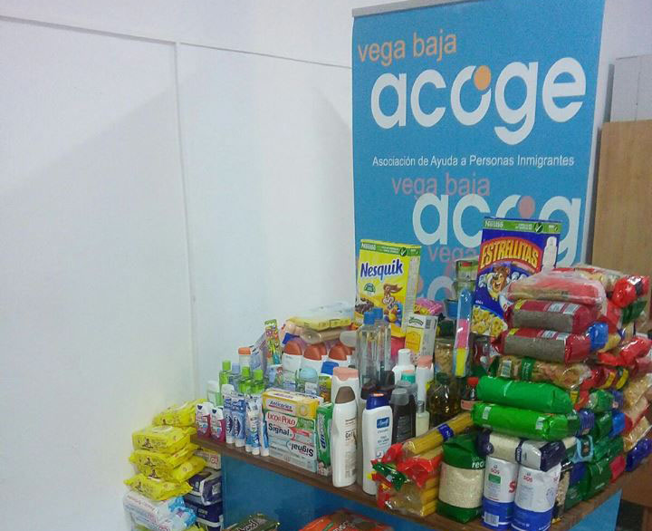 Vega Baja Acoge inicia una recogida de alimentos 6