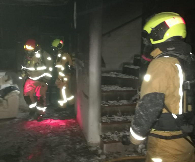 Un incendio calcina una vivienda en Orihuela Costa 6