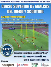 Un cartel de lujo para formar analistas de fútbol en Torrevieja 6