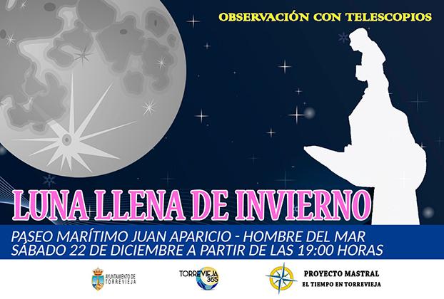 Disfruta de la primera luna llena de invierno en Torrevieja 6