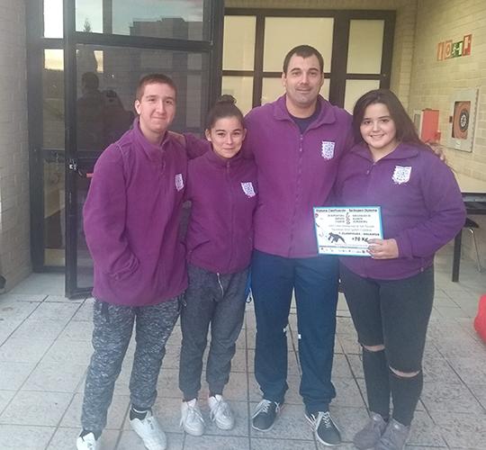 Tres judokas de la Vega Baja participan en la Supercopa de España Cadete 6