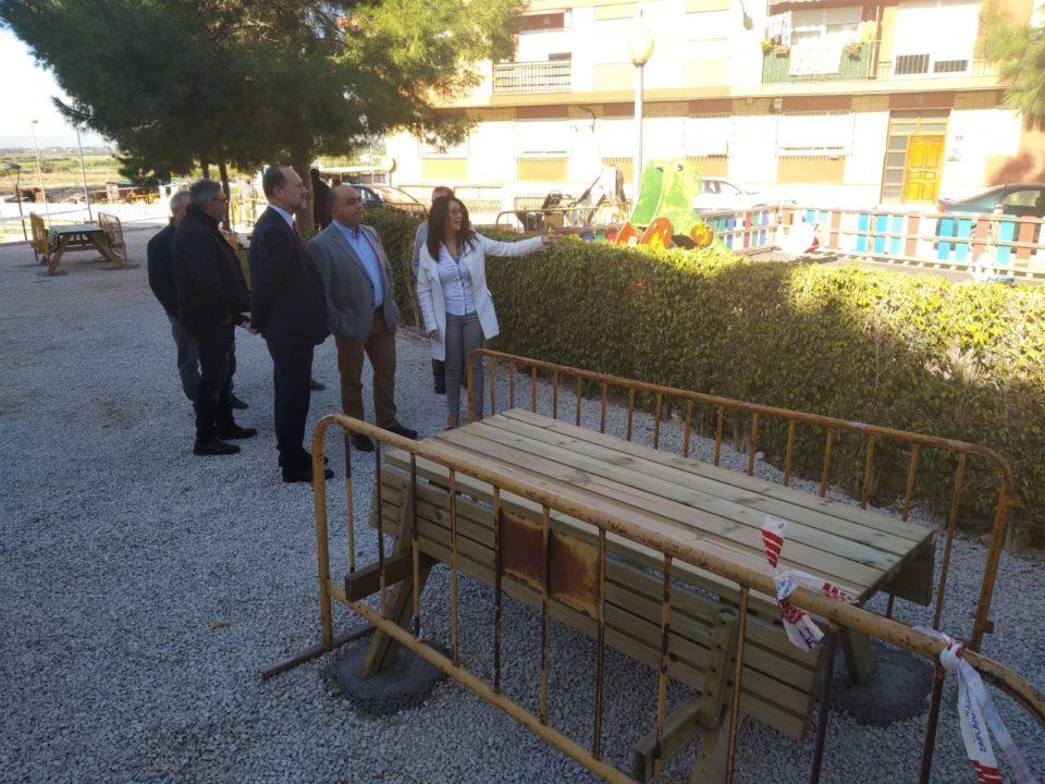 Las obras del Parque de la Era de Hurchillo finalizarán antes de Navidad 6