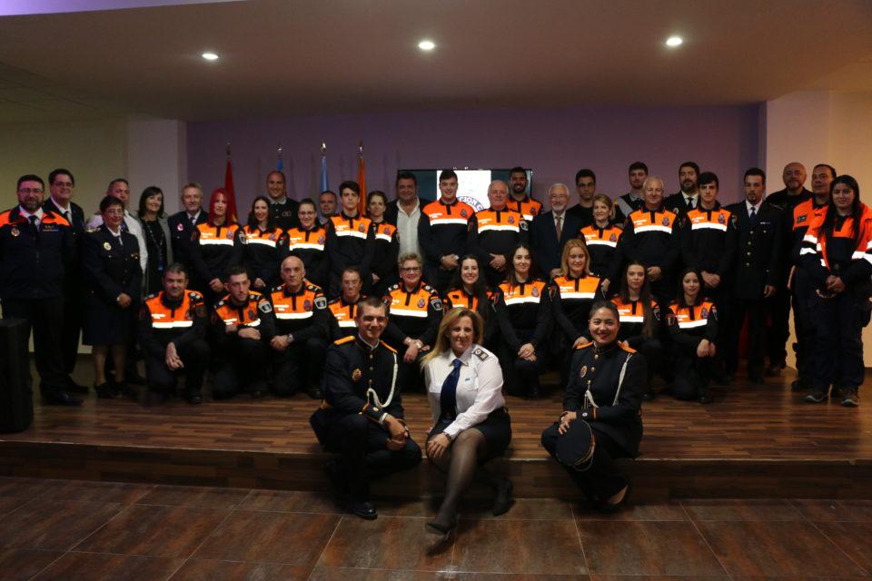 Protección Civil Torrevieja celebra el acto anual de entrega de galones y distinciones 6