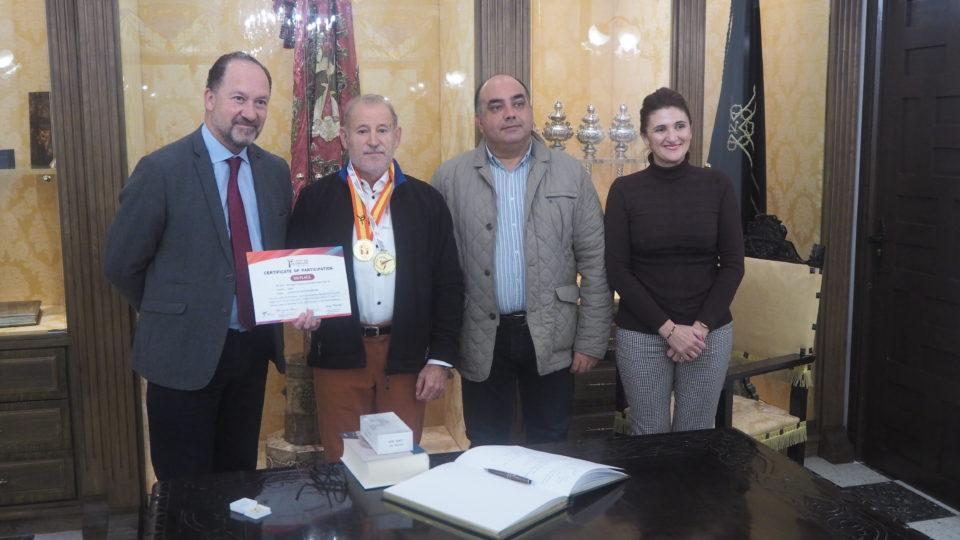 Recepción institucional al Campeón de España y de Europa de taekwondo Pedro González 6