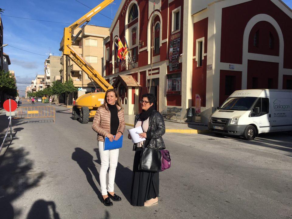 Almoradí invierte en mejoras en el Teatro Cortés 6