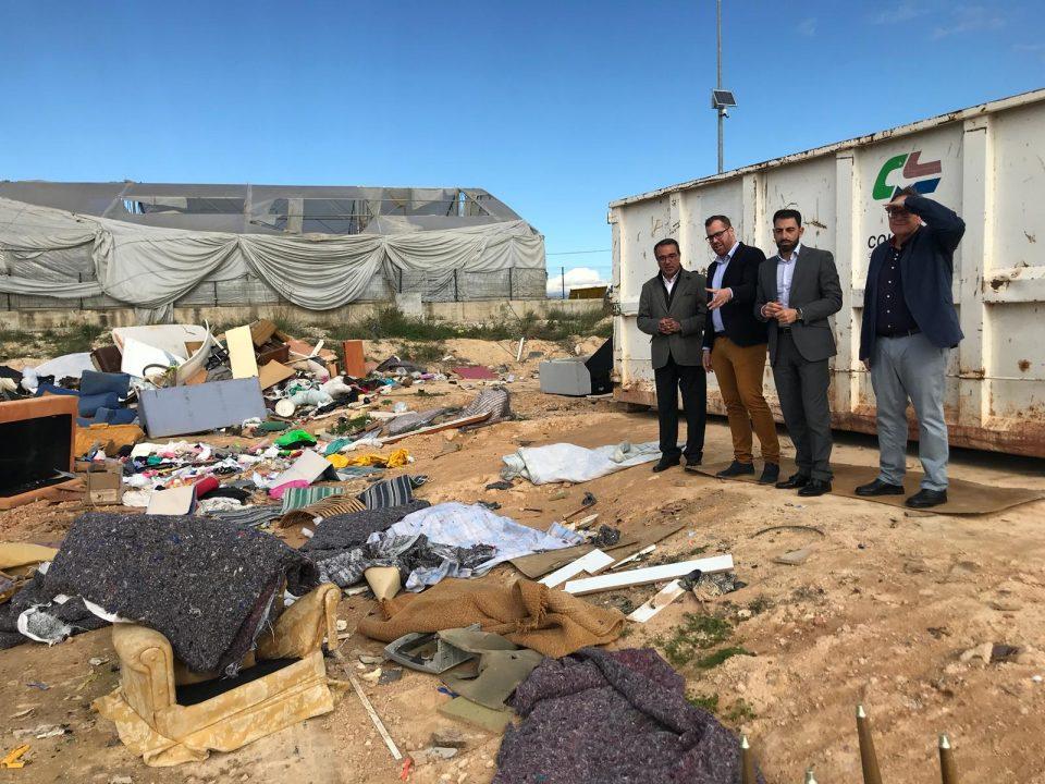 El PP rechaza la instalación de una planta de transferencia en Dolores 6