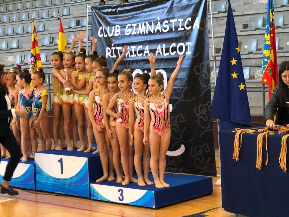 Orihuela consigue el bronce en el Autonómico de Alcoy de Gimnasia Rítmica 6